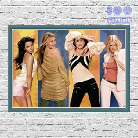 Charlie's Angels Full Throttle Promo плакат